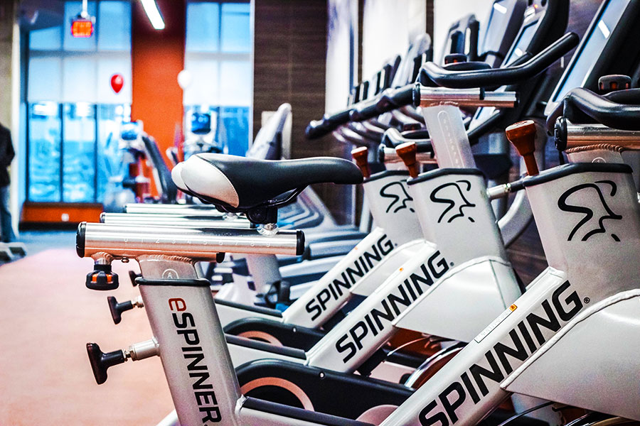 Modern New Equipment like Cycles, Treadmills & More