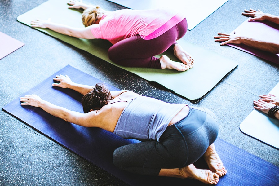 Boutique-Style Yoga Classes in our Private Namaste Studio