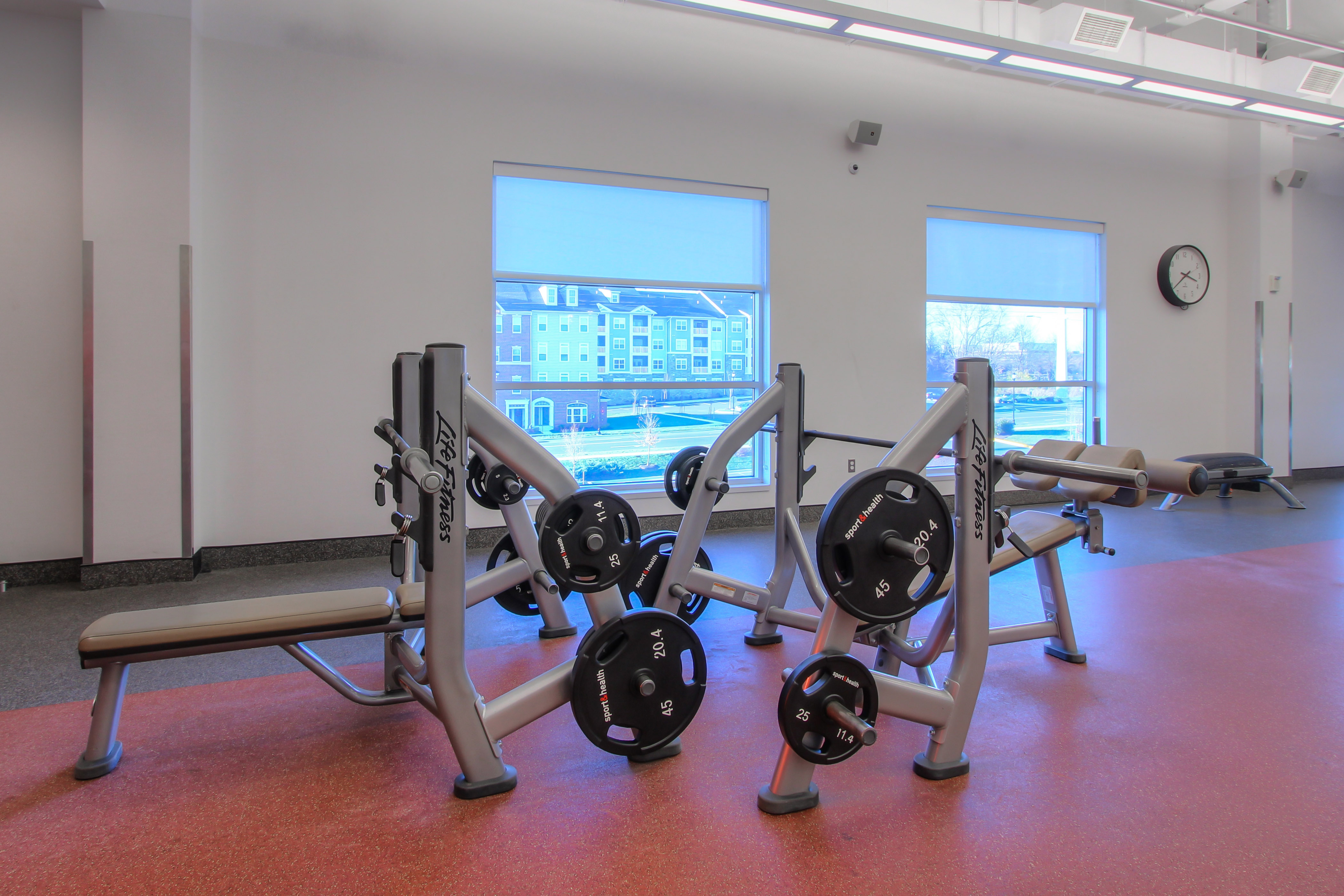 North Frederick Sport&Health Benches