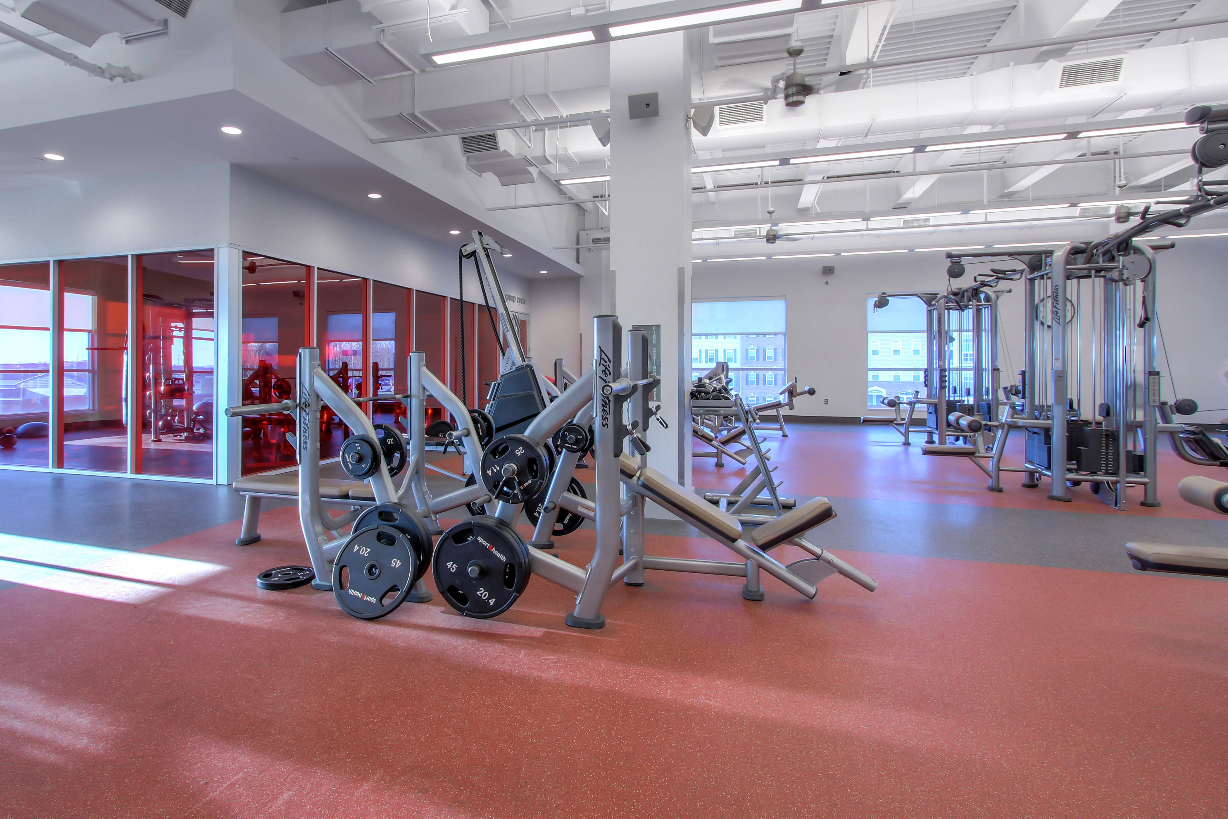 North Frederick Sport&Health Fitness Floor