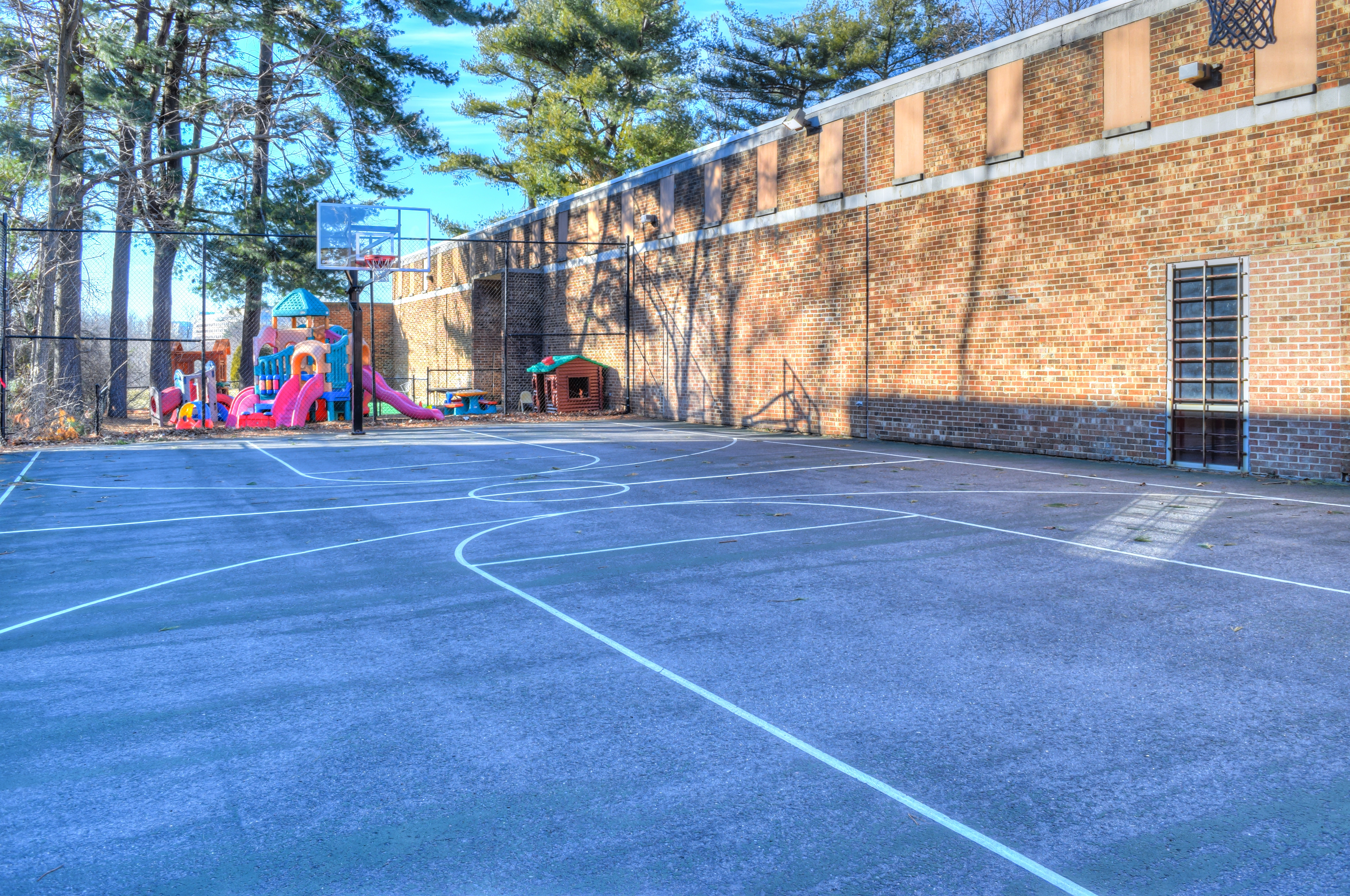 Outdoor Training Area/ Courts