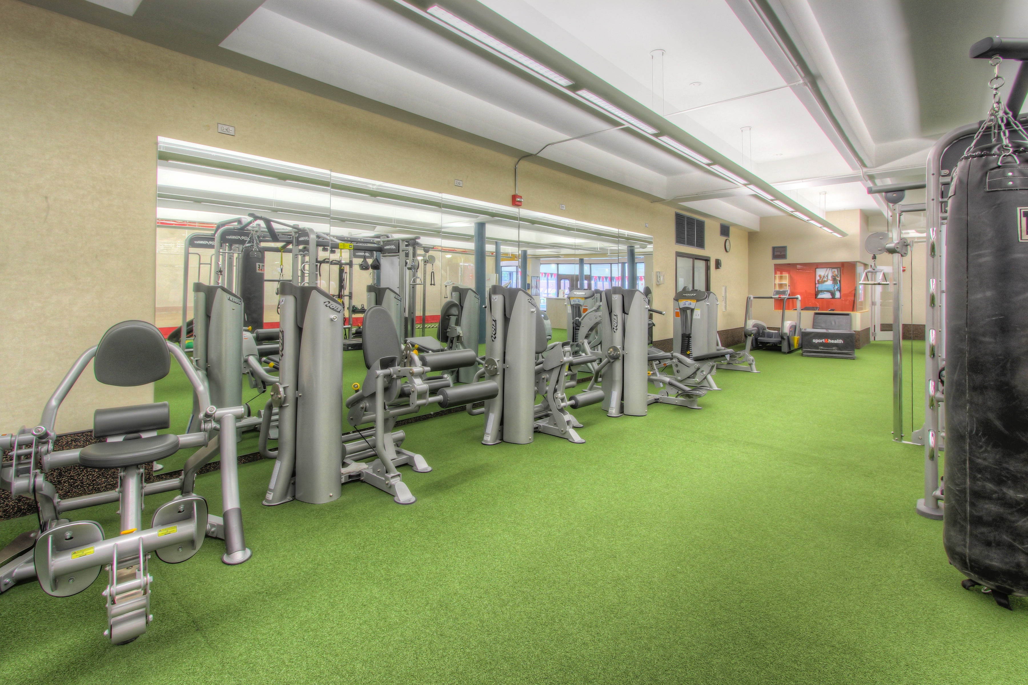 Workout/Turf Area