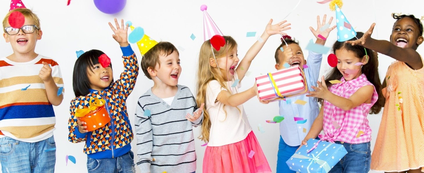 kids birthday parties at the gym